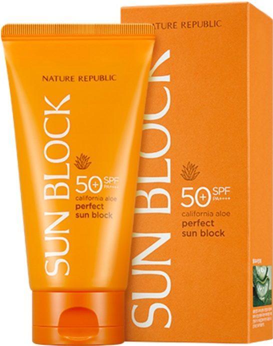 California Aloe Perfect Sun Block SPF 50 от NATURE REPUBLIC