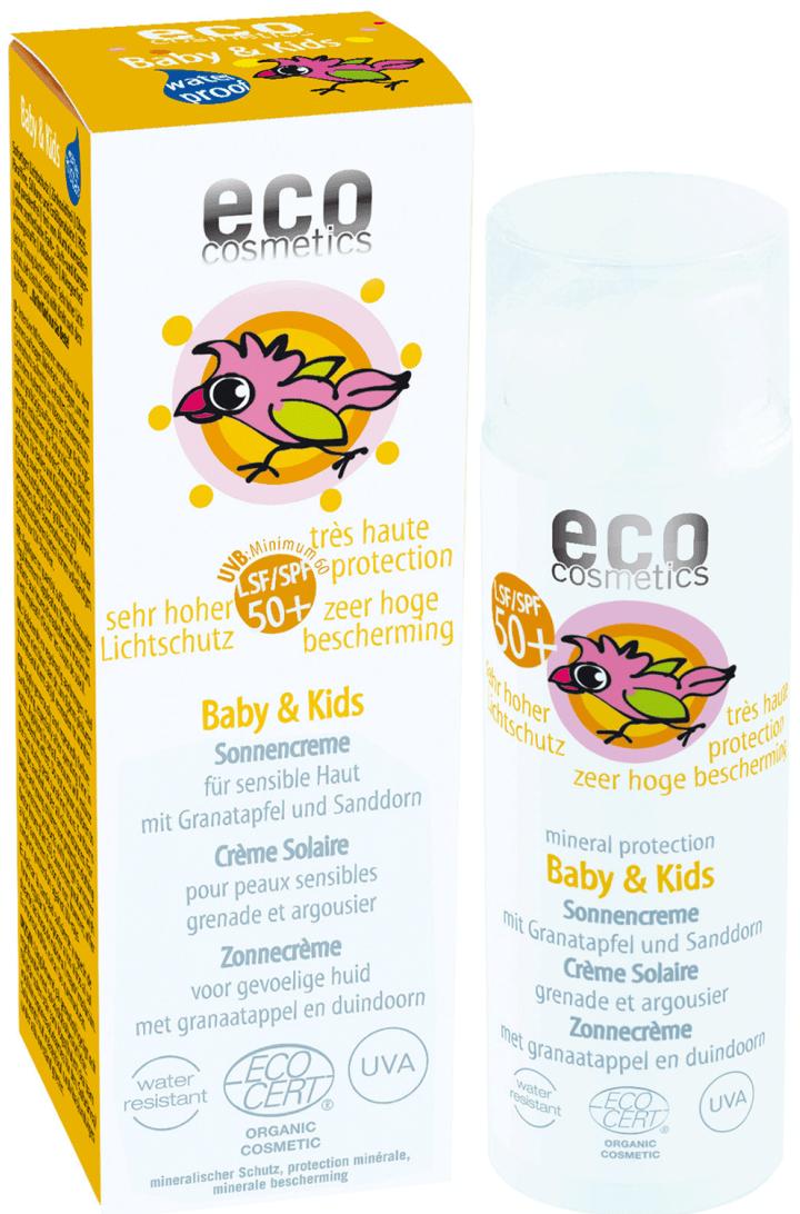 ECO Cosmetics «Baby & Kids Sun Cream»