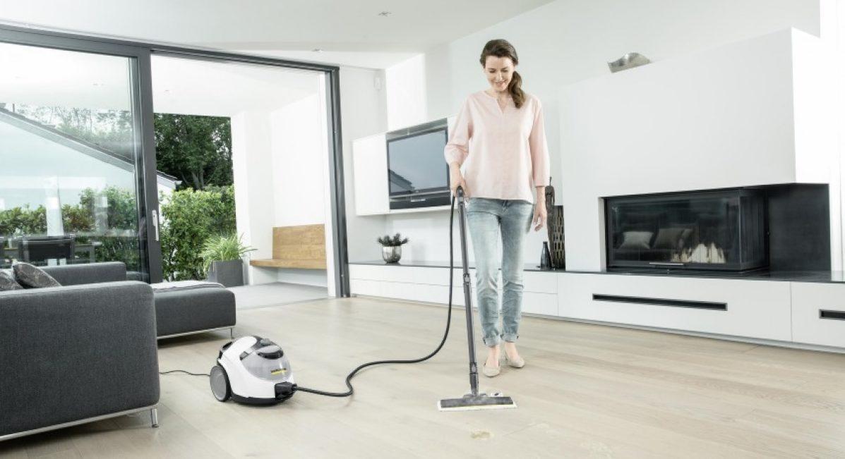 как убирать квартиру паром