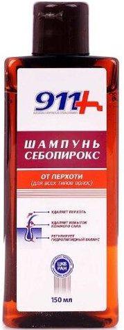 911+ шампунь Себопирокс от перхоти