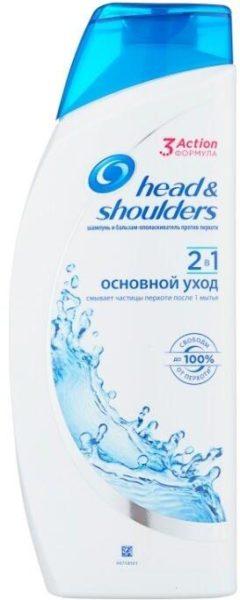 Head & Shoulders шампунь и бальзам-ополаскиватель против перхоти 2в1 Основной уход для нормальных волос
